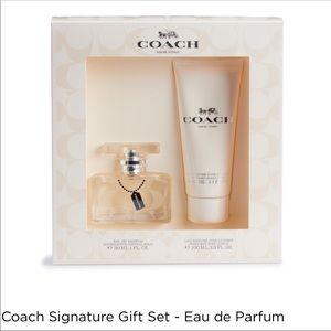 Brand new coach gift set